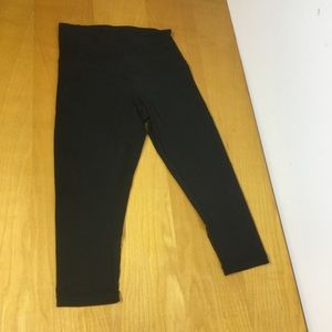Zella Crop Legging With Some Mesh Size M #22